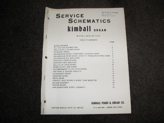 Kimball : Celedonia Organ Service