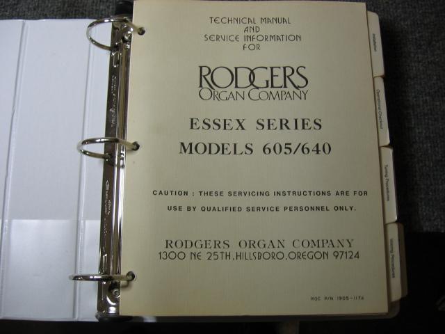 Rodgers : Celedonia Organ Service