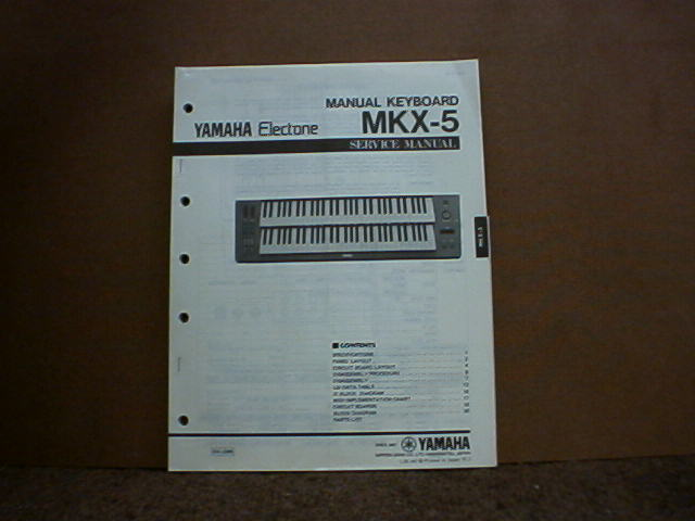 yamaha manual keyboard